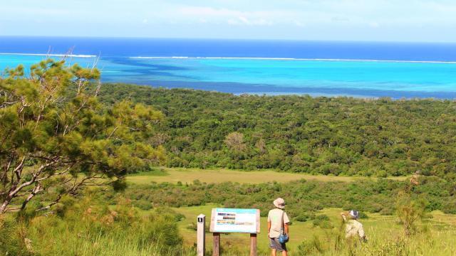 Point de vue sur la faille aux requins Domaine de Déva - Bourail