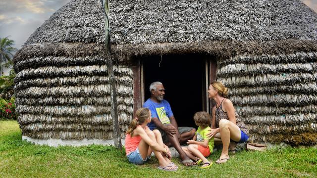 Accueil en Tribu- Nouvelle-Calédonie