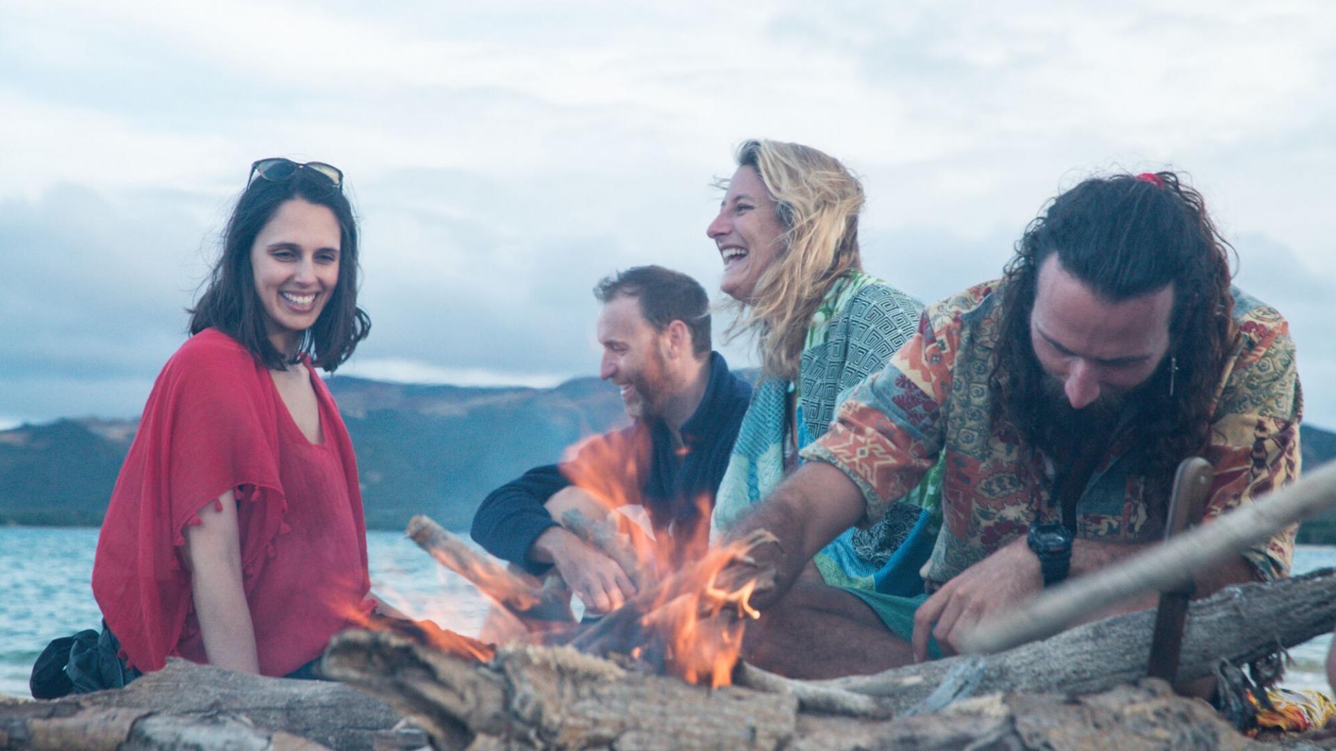 Camping sur la plage - Nouvelle-Calédonie