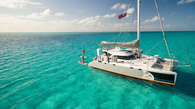 Sortie sur un catamaran - Nouvelle-Calédonie