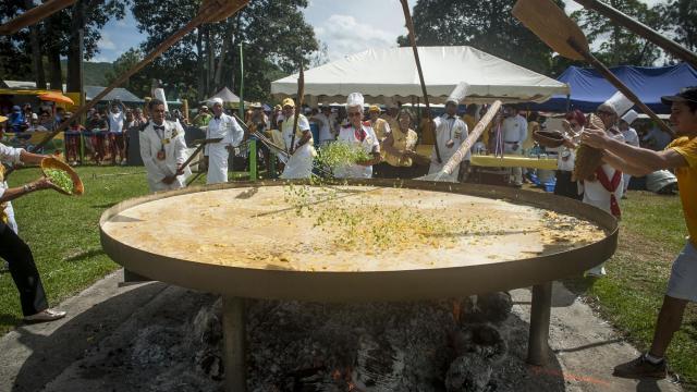 Fête de L'omelette Géante - Dumbéa
