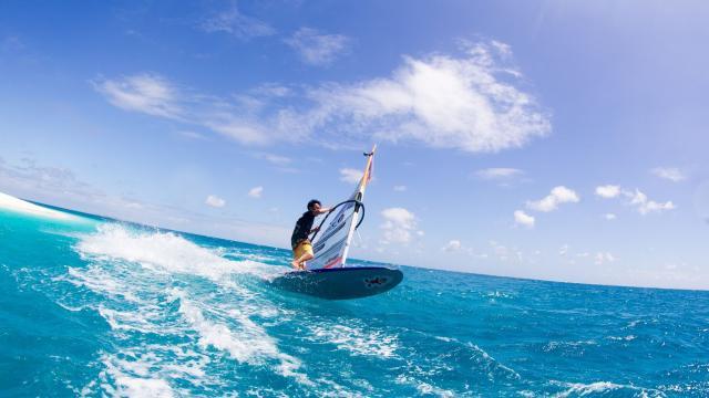 Planche à voile - Nouvelle-Calédonie