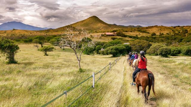 Randonnée à cheval - Karikaté