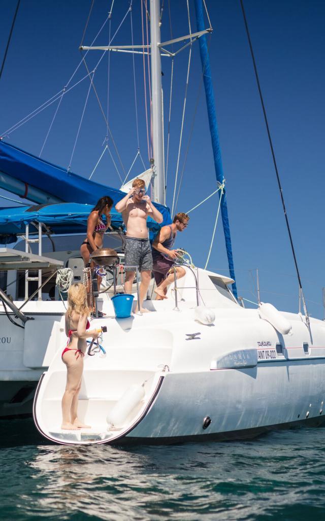 Sortie catamaran - Nouméa