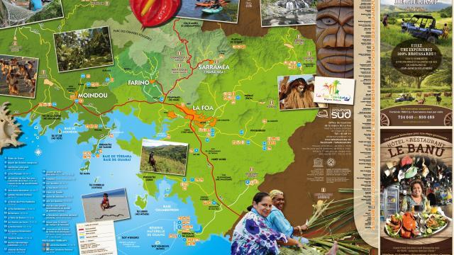 Carte région La Foa