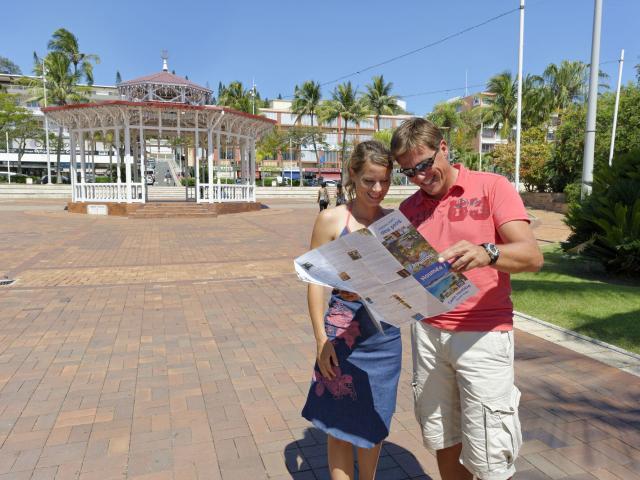 Place des cocotiers - Nouméa