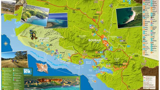 Carte Région de Bourail