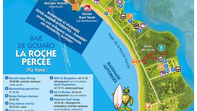 Carte de la Roche Percée