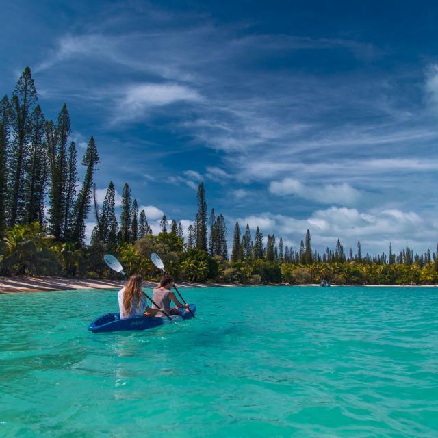 Canoë Kayak Baie De Kanumera Île Des Pins