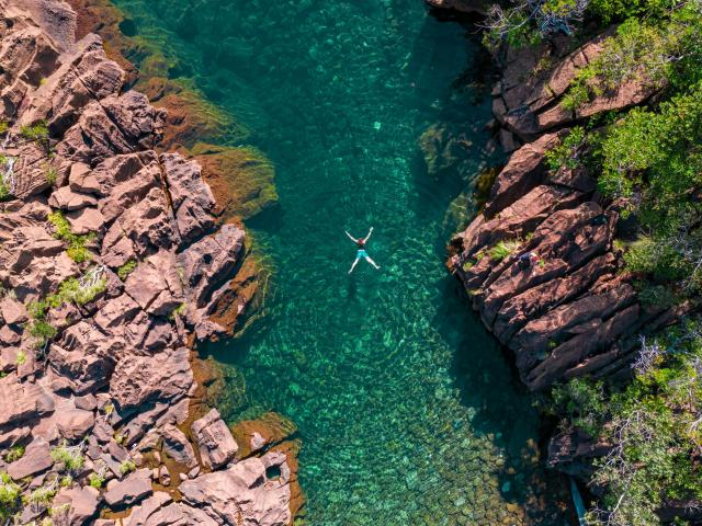 Baignade Rivière Yaté