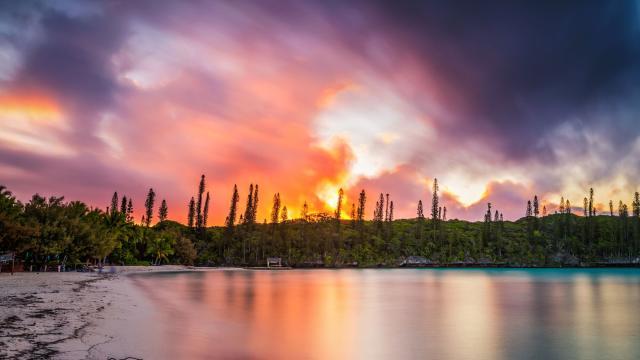 Sunset Le Méridien Ile Des Pins