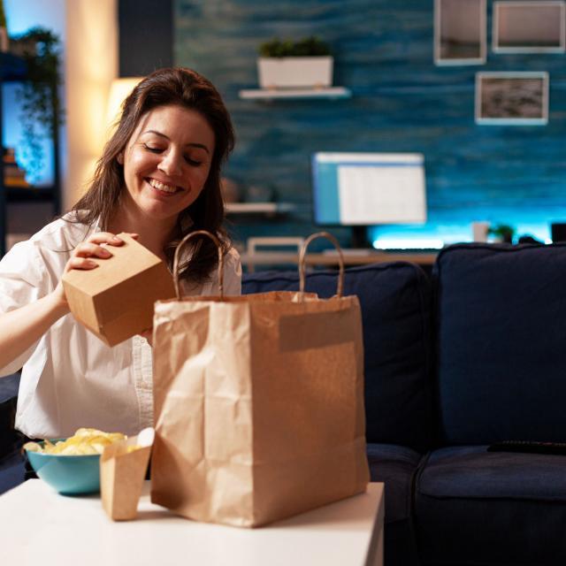 Livraison à domicile et vente à emporter