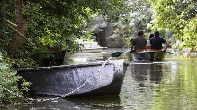 Activité barque - Instagram #maraispoitevin