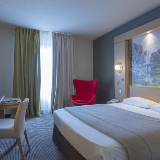 Mercure hôtel Niort Marais Poitevin - Chambre lit double