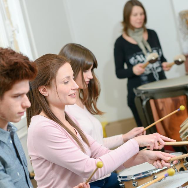 Incentive atelier percussions