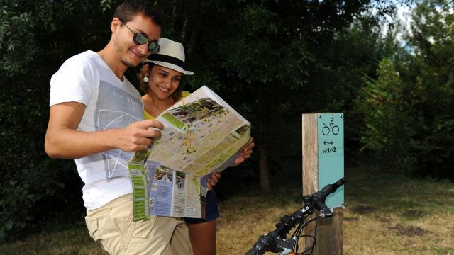 Challenge vélo orientation dans le Marais Poitevin