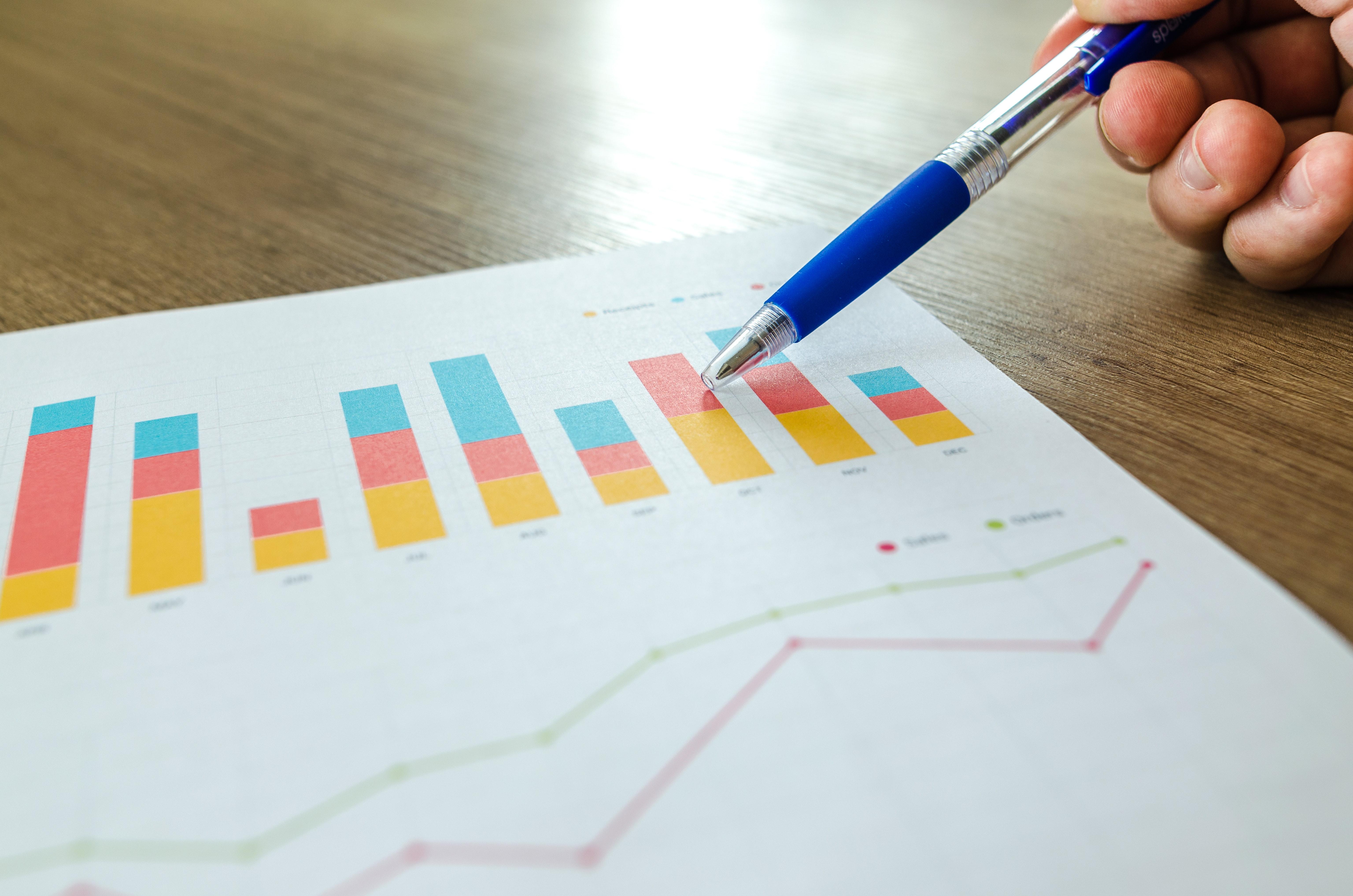 Analytics Blur Chart 590020