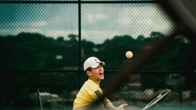 Compétition de tennis