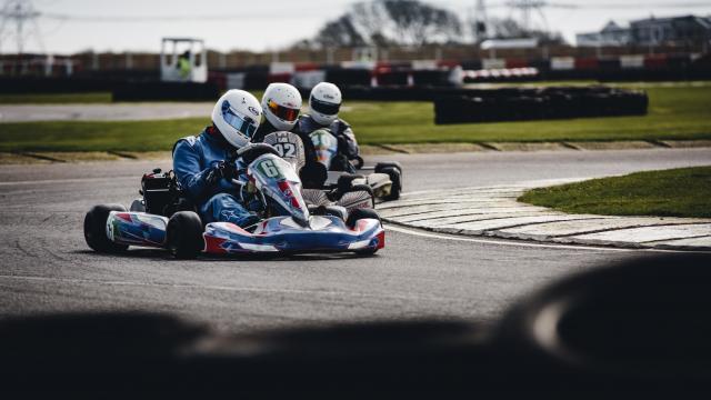 Compétition karting