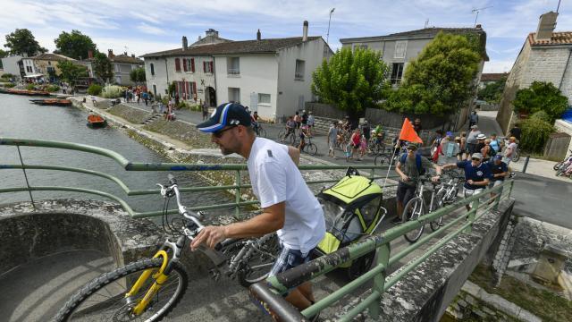 Coulon à vélo