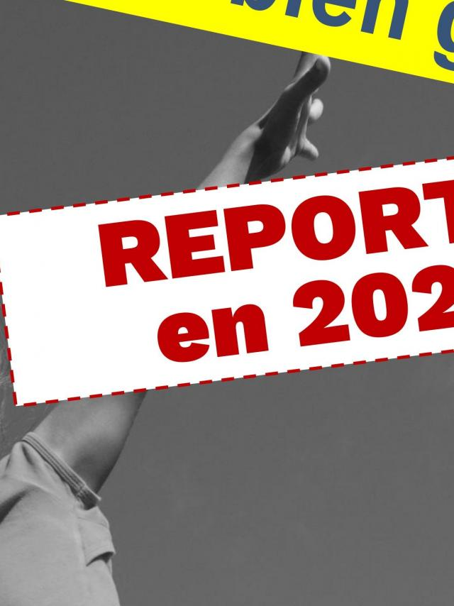 Colloque bouger pour bien grandir - Report 2021