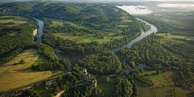 La Vallée de la Dordogne à Lacave
