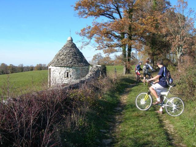A Vélo Sur Le Pnr Des Causses Du Quercy @ Pnrcq