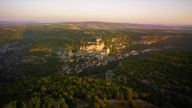 Rocamadour En Vallee De La Dordogne