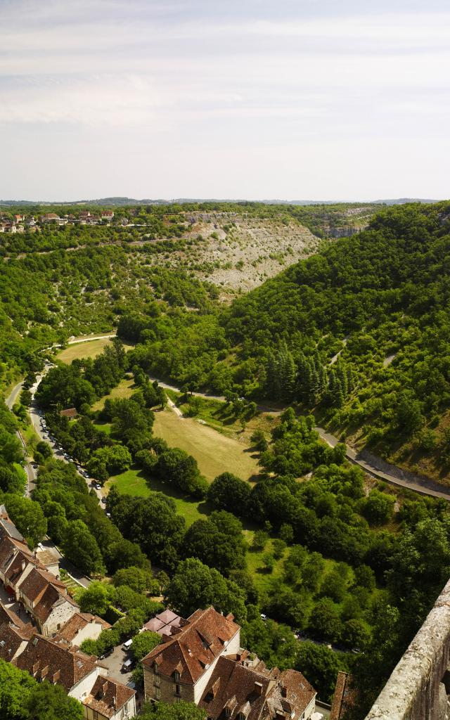 Rocamadour Les Remparts Gsmp Viet ;cf007707