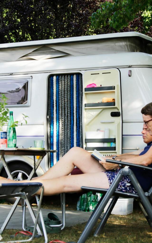 Camping Creysse Caravane
