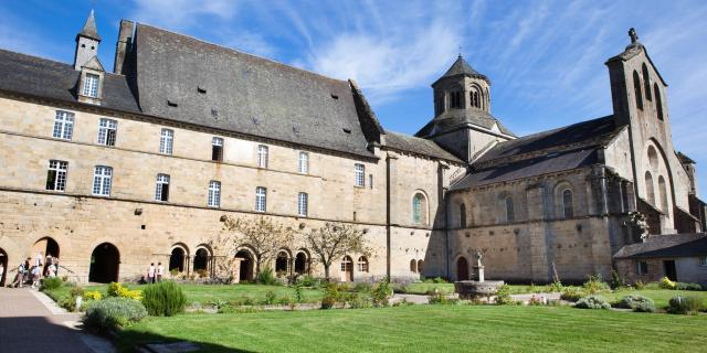 Abbaye d'Aubazine vue générale