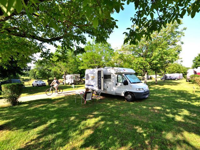 Camping en camping-car