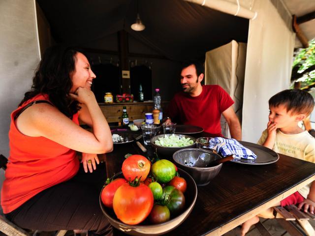 Campings pour les familles