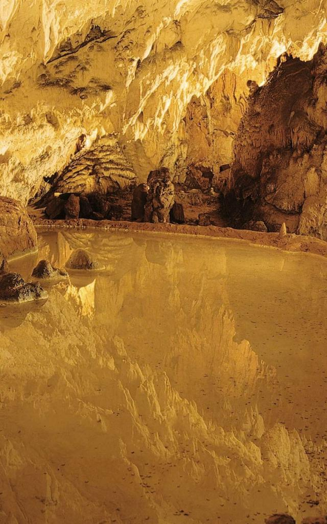 Reflet - Grotte des Merveilles