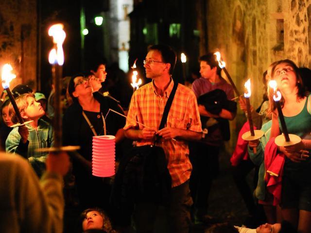 Visite aux flambeaux et lampions