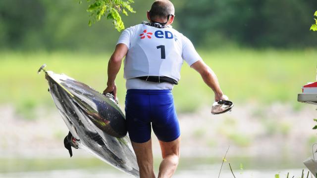 Dordogne integrale course de 130 kms de canoë-Kayak