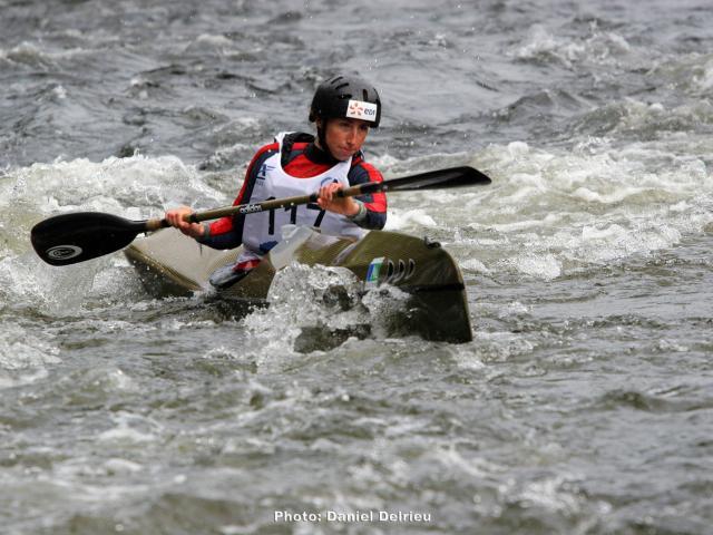 Laetita Parage - championne du onde de Kayak
