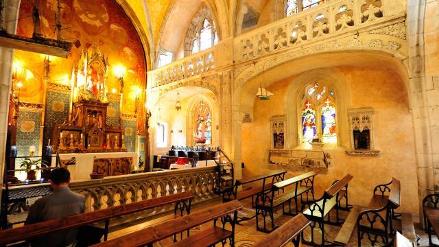 Chapelle De La Vierge Noire A Rocamadour.jpg