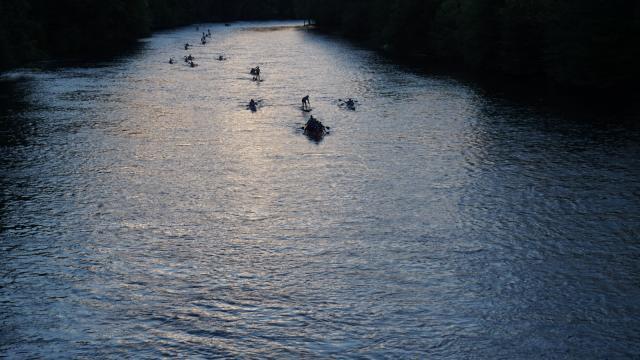 La Dordogne Intégrale au petit matin