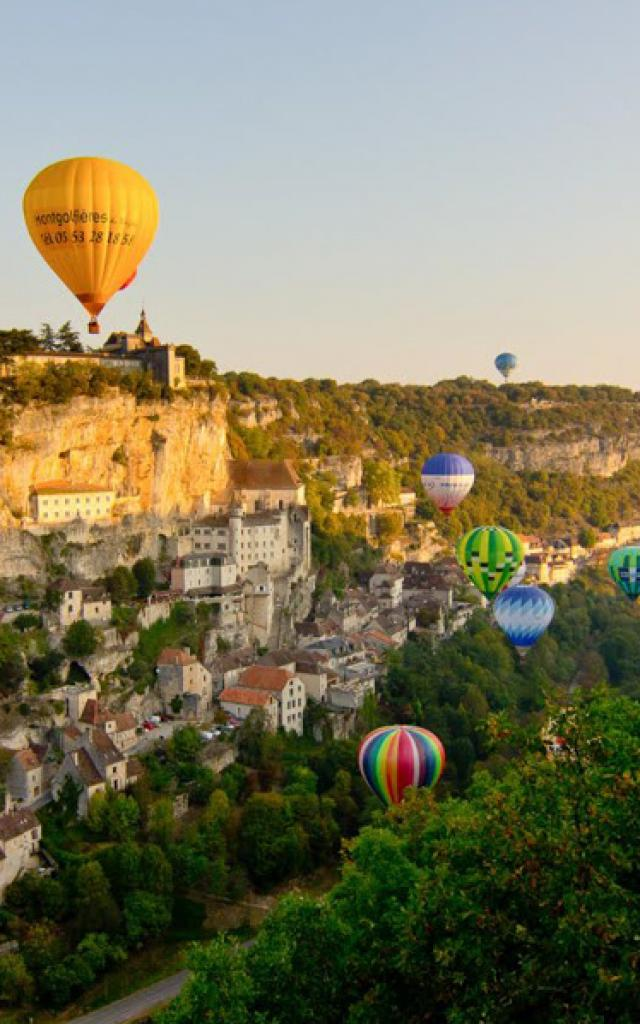 Montgolfiades de Rocamadour