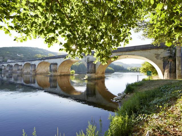 pont louis vicat sur la dordogne construit en 1812