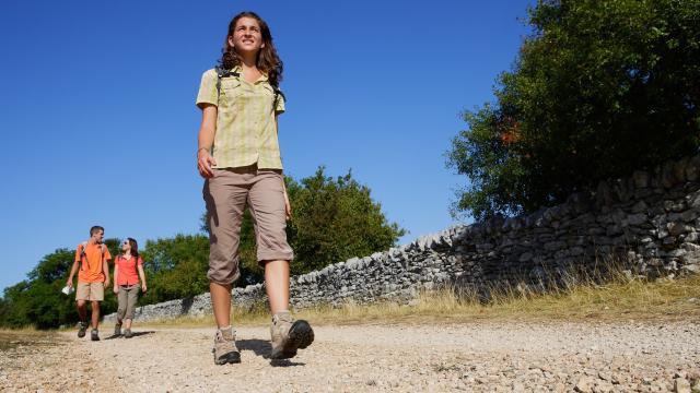 Randonnée sur le Parc natuerl régional des Causses du Quercy