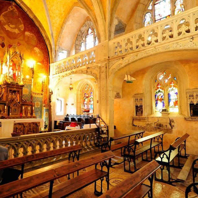 Rocamadour La Chapelle Miraculeuse 1.jpg