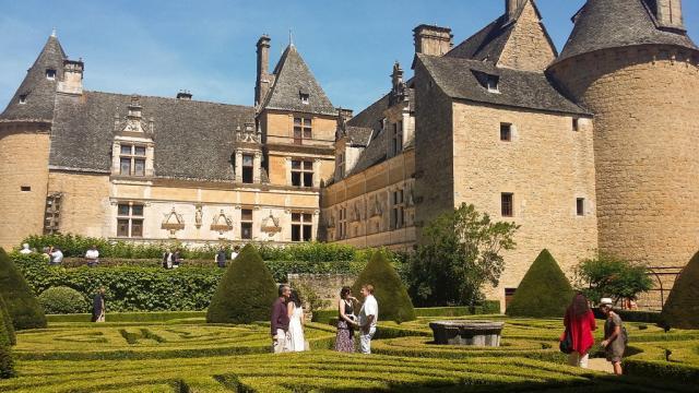 Jardins et château Montal