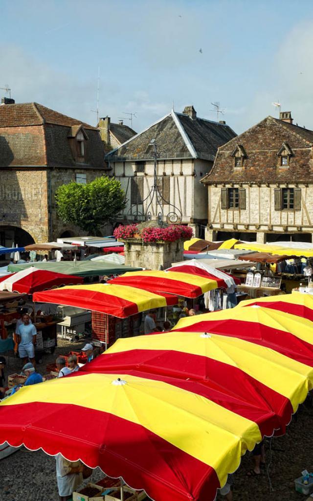 Marché de Bretenoux
