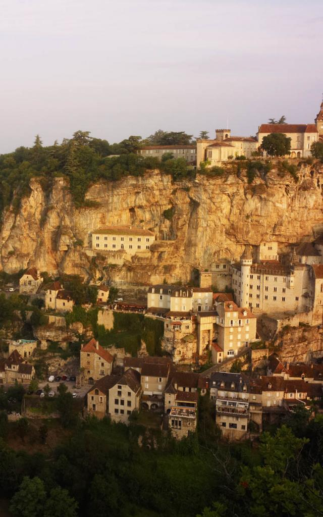 Rocamadour panorama