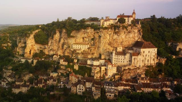Rocamadour panorama