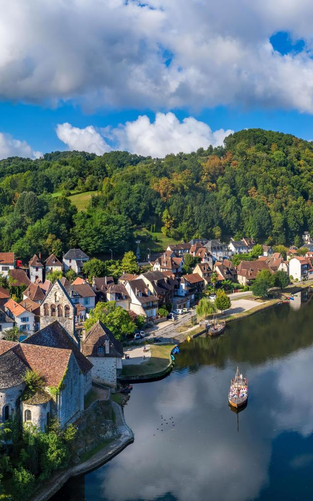 Gabare de Beaulieu-sur-Dordogne