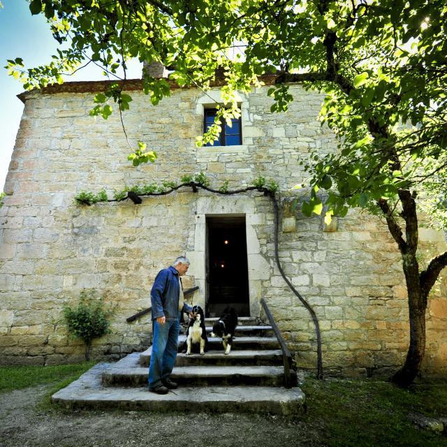 Hubert Faure Du Moulin De Cougnaguet © Cochise Ory Ot Vallée De La Dordogne