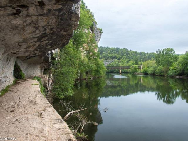 Chemin Halage Saint-Cirq-Lapopie